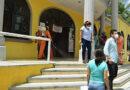SANITIZAN PALACIO MUNICIPAL DE TIHUATLÁN