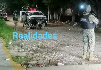 Elemento de la Guardia Nacional abatido en Poza Rica