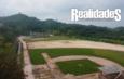 Presenta gran avance construcción de campo de beisbol infantil