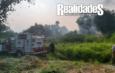 Por la cercanía con las viviendas Incendio atemoriza a la colonia 27 de Enero