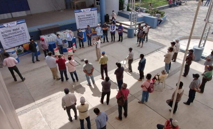 CITRICULTORES ORGÁNICOS DE ÁLAMO TEMAPACHE RECIBIERON DEL GOBIERNO DE JORGE VERA HERNÁNDEZ, APOYÓS DIVERSOS PARA FORTALECER AL SECTOR NARANJERO ECOLÓGICO.