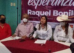 Raquel Bonilla con vil descaro busca la reelección